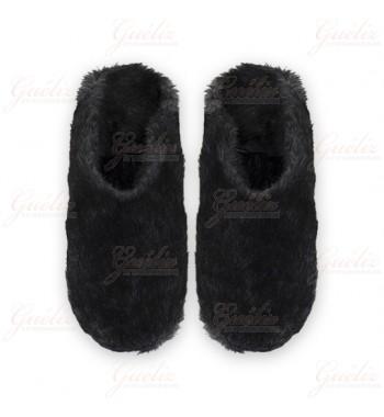 babouches souples / chaussons fourrés