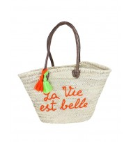 PANIER ST TROPEZ ORANGE II