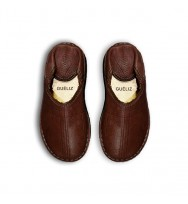 BABOUCHES BERBERES MARRON