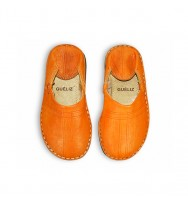 BABOUCHES BERBERES ORANGE