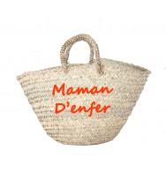 PANIER MEDINA MAMAN D'ENFER