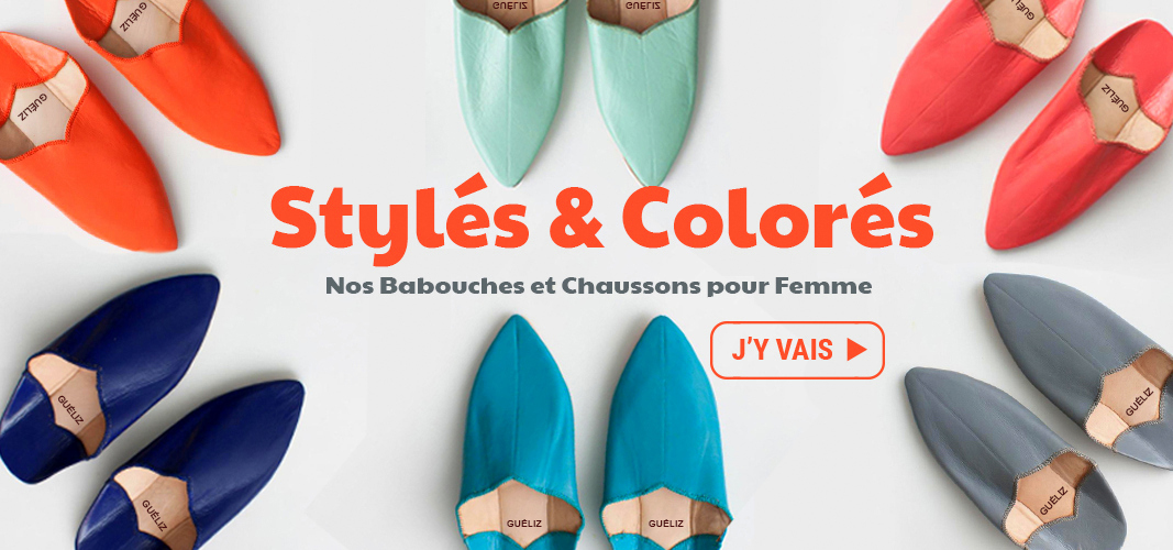 babouche & chaussons femme